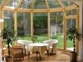 owalny ogród