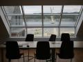 Bikkjarvik 2014 - świetlik na poddaszu budynku firmowego