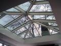 swietlik aluminiowo szklany