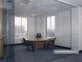 oszklone ściany biura