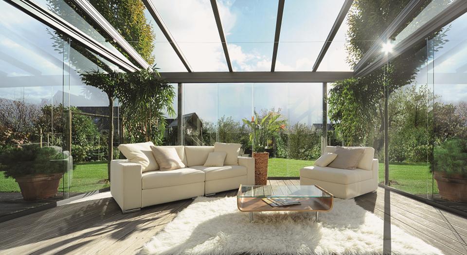 Ogrody zimowe fasady szklane systemy przesuwne witryny sklepowe drzwi i okna z aluminium - Bundesverband wintergarten ev ...